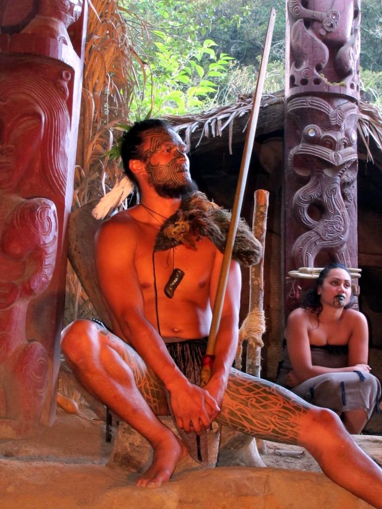 Maori Show in Rotorua