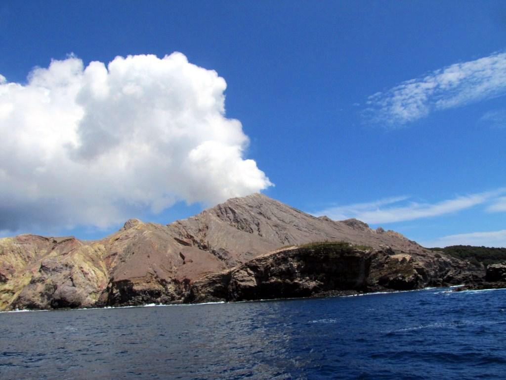 Aktiver Vulkan auf White Island