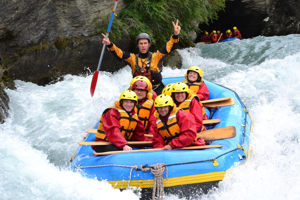 River Rafting auf dem Shotover River bei Queenstown